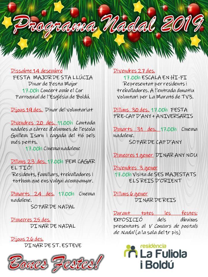 19. Programa Nadal