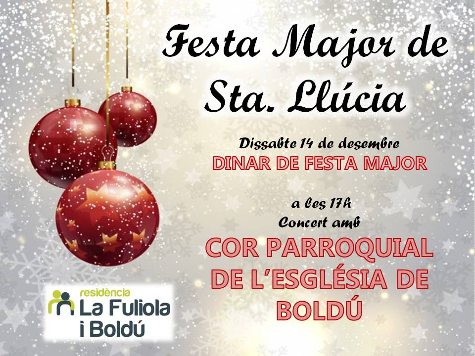 20. Festa Major Sta Llúcia