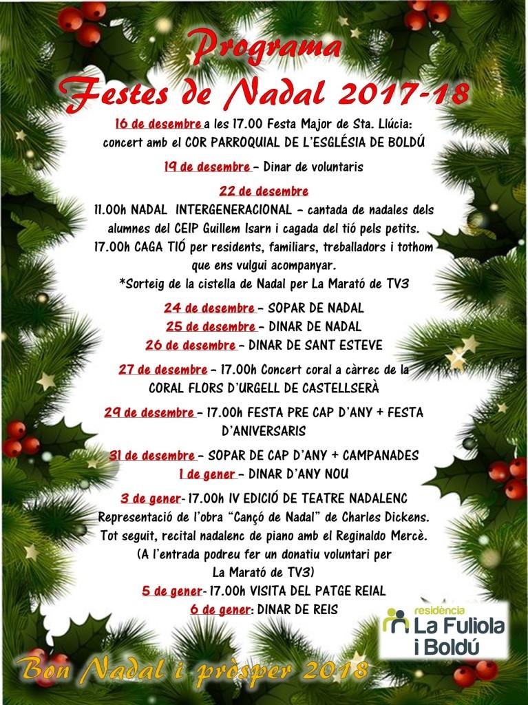 22. Programa Nadal