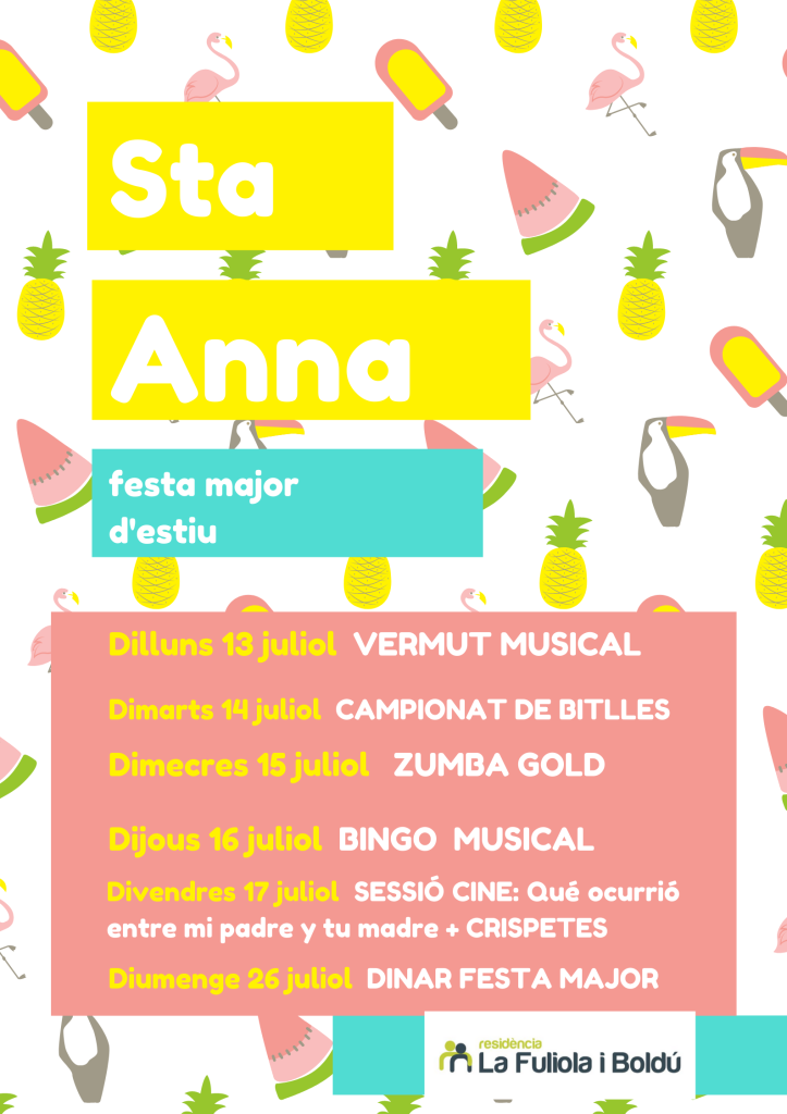 7. Festa Major Sta Anna