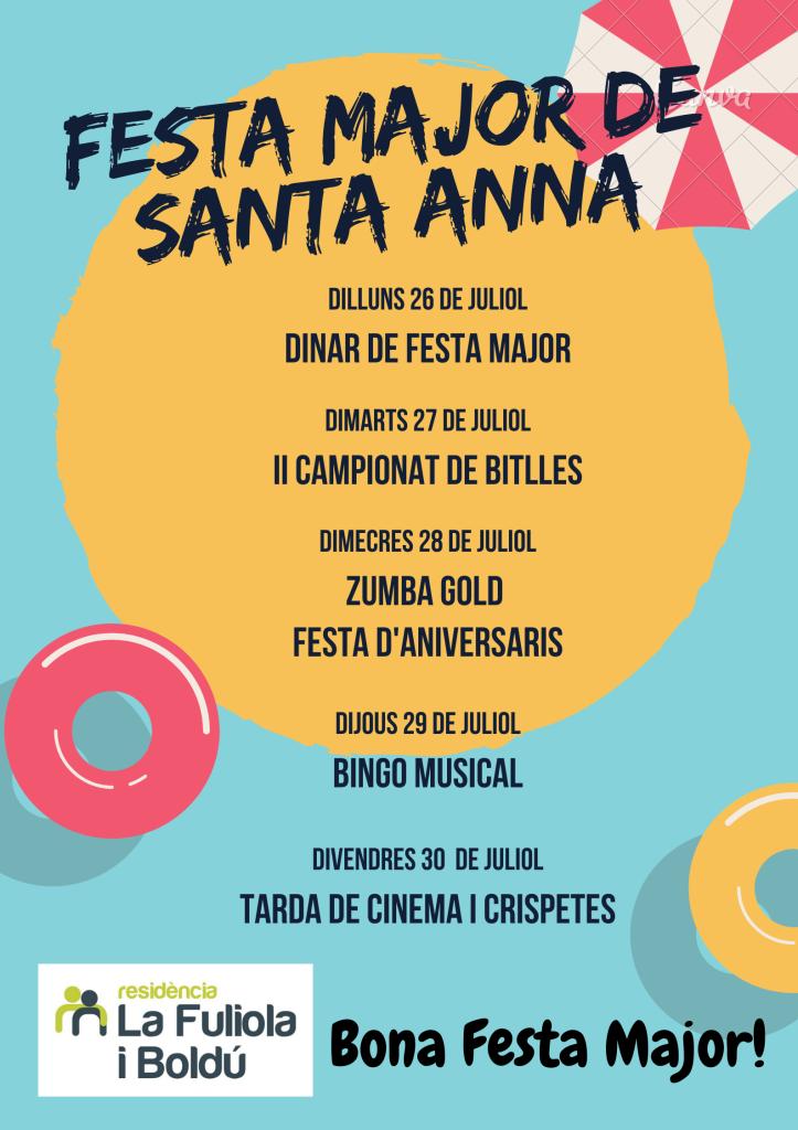 8. FESTA MAJOR DE SANTA ANNA